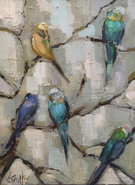 Bird call 15 X 30 $1050
