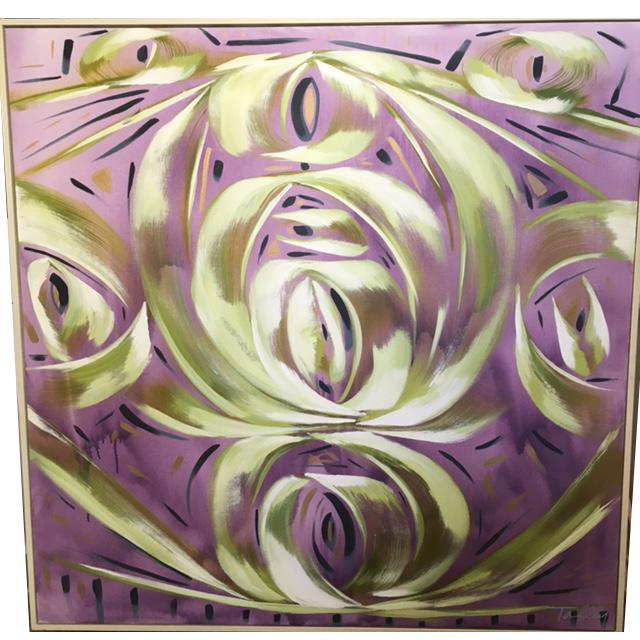 Purple Rain, 60x60, $9000