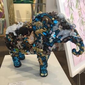 "Blue Elephant"" 18x25x9 $7900"